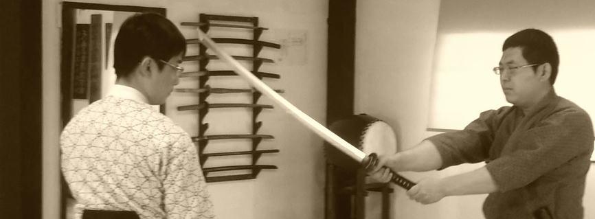 ... のが 疋田新陰流剣術です